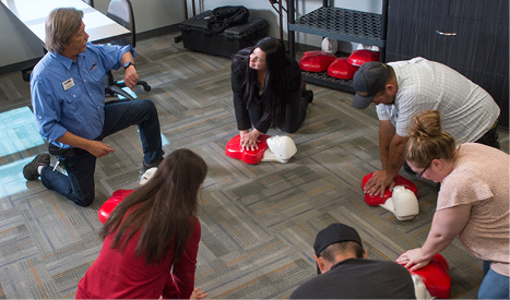 First Aid/CPR/AED - Healthcare - Courses - TrainND Northwest - Williston State College